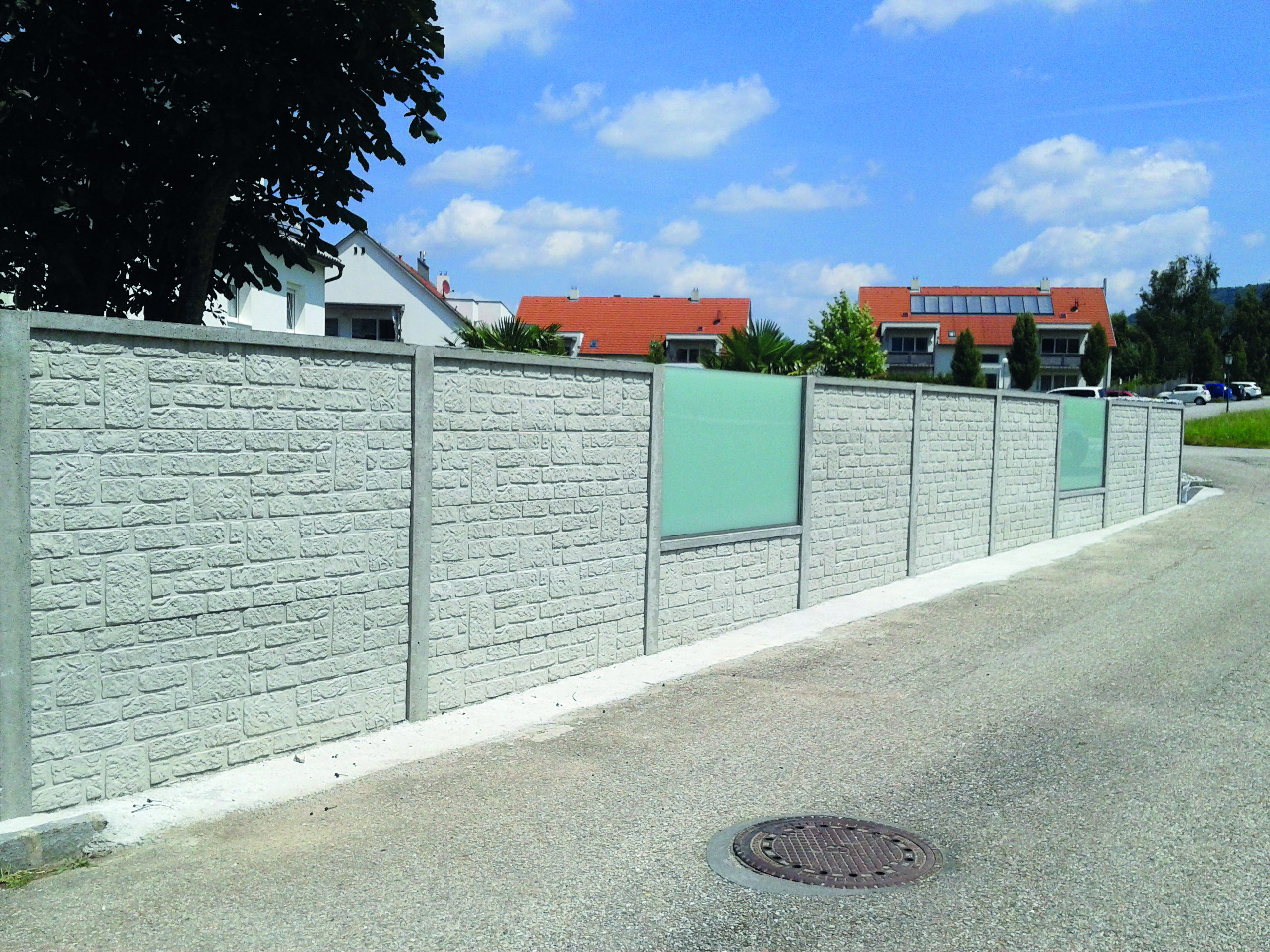 Moderner Betonzaun Fur Die Zukunft Zaune Zemann